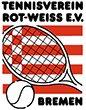 Tennisverein Rot-Weiss e.V. Bremen Sticky Logo